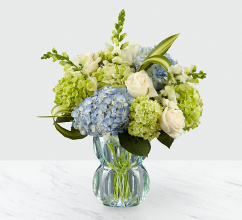 Superior Sights Luxury Bouquet - Blue & White