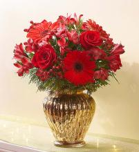 Royal Red Christmas Bouquet