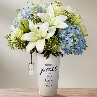 DaySpring® In God's Care™ Bouquet - Blue & White