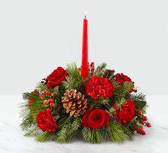 I\'ll Be Home for Christmas™ Candle Centerpiece