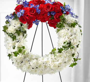 Patriotic Passion Wreath