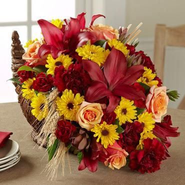 The Fall Harvest Cornucopia by Better Homes and Gardens