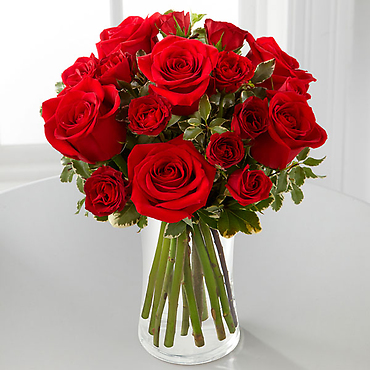 The Red Romance? Rose Bouquet